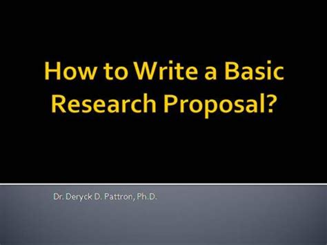 Writing a good scientific research paper